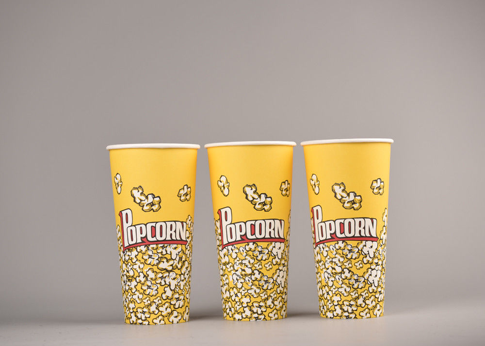Personalized Custom Printed Popcorn Buckets Food Grade For Cinema